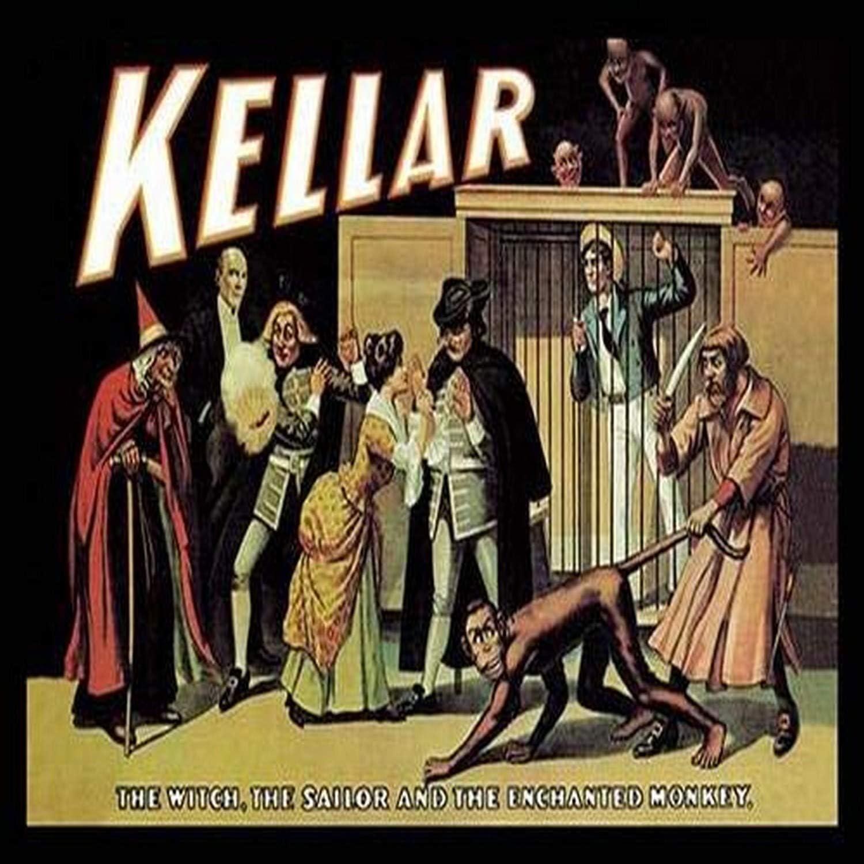 1849-1922 Photo Magician,Heinrich Keller Harry Kellar