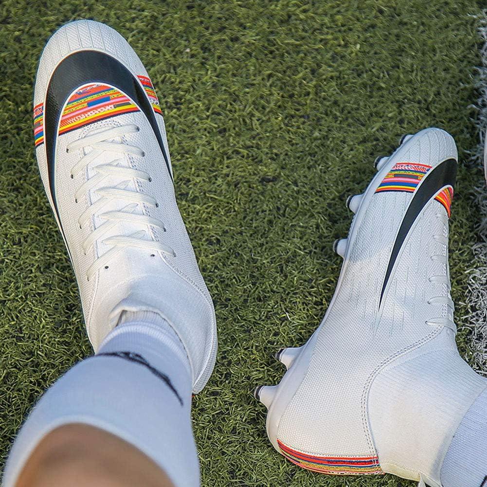 SMXX Le Scarpe da Calcio da Uomo aiutano Le Scarpe da Calcio Traspiranti per Ragazzi e Donne Antiscivolo