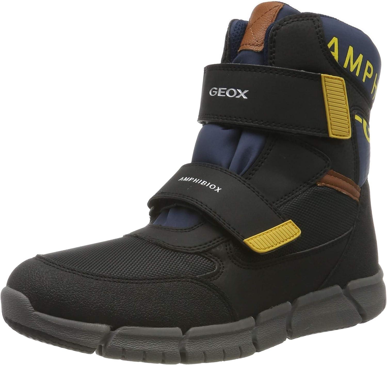 Geox J Flexyper Boy B ABX para Nieve Ni/ños