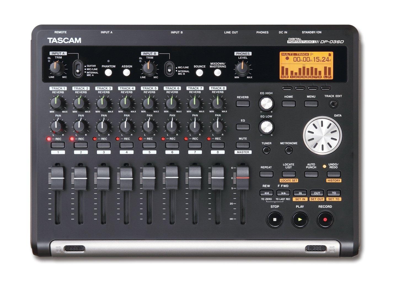 Tascam DP-03SD Digital Portastudio Multitrack Recorder