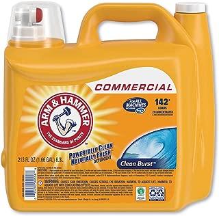 product image for Arm & Hammer 3320000556 Dual HE Clean-Burst Liquid Laundry Detergent, 213 oz Bottle