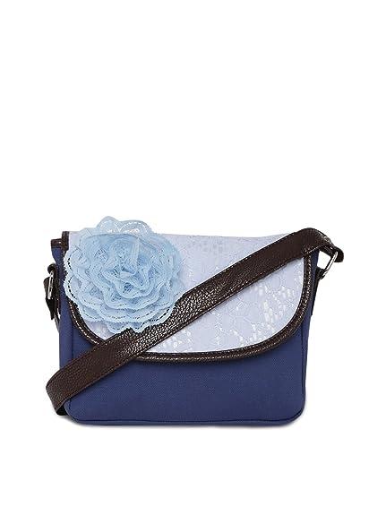 d8b47168baf pick pocket Sling Bag (Blue)  Amazon.in  Shoes   Handbags