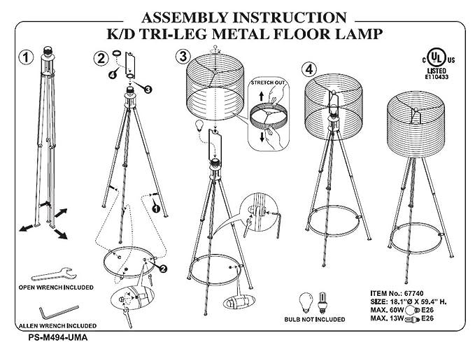 Arc Lamp Diagram