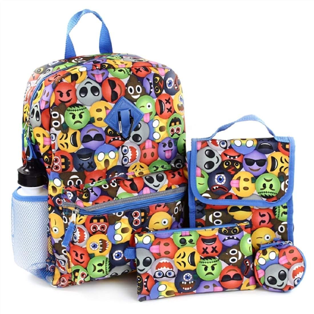 Emoji Design REBOOT 16 6-Piece Backpack Set