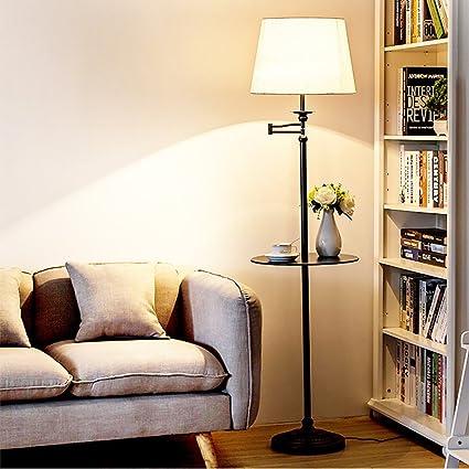 Lámpara de pie Sala de Estar del Dormitorio mesita de café ...
