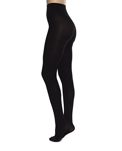 d3a0d7277f4 Image Unavailable. Image not available for. Color  Swedish Stockings LIA Premium  Stockings Black Tights ...