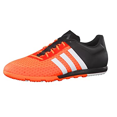 c7e8fae46a32 adidas Shoe Ace 15.1 Primeknit CG Solar Orange Size: 40 EU: Amazon ...