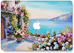 MacBook Air 13 inch Case - AQYLQ MacBook Air 13 inch Hard Case Protective Cover for Apple Laptop MacBook Air 13 inch Model A1369 / A1466 - Oil Painting Landscape LRS538