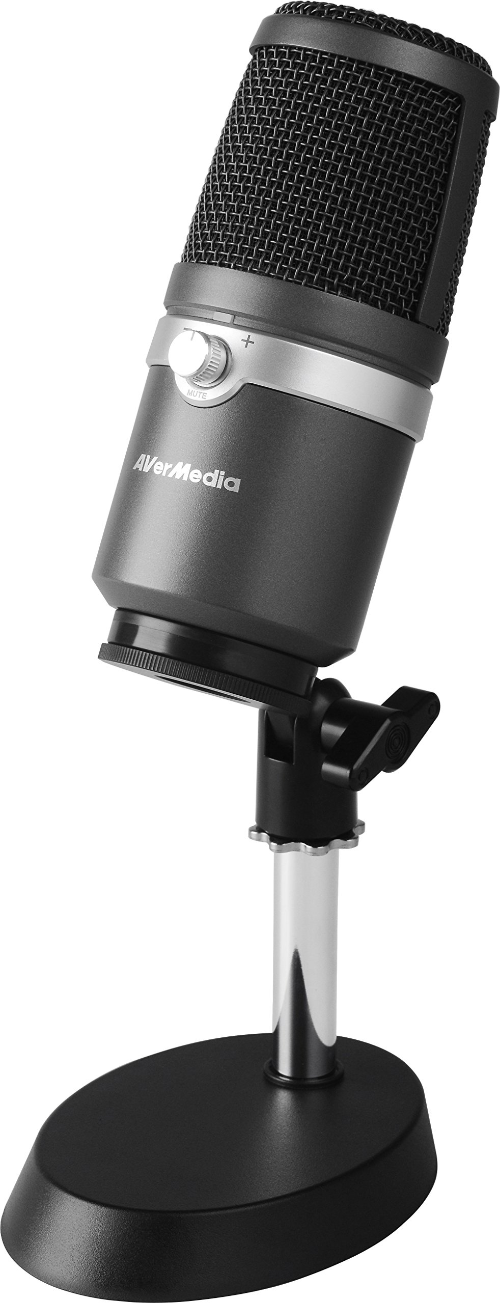AVerMedia USB Multipurpose Microphone, for Recording, Streaming or Podcasting (AM310)