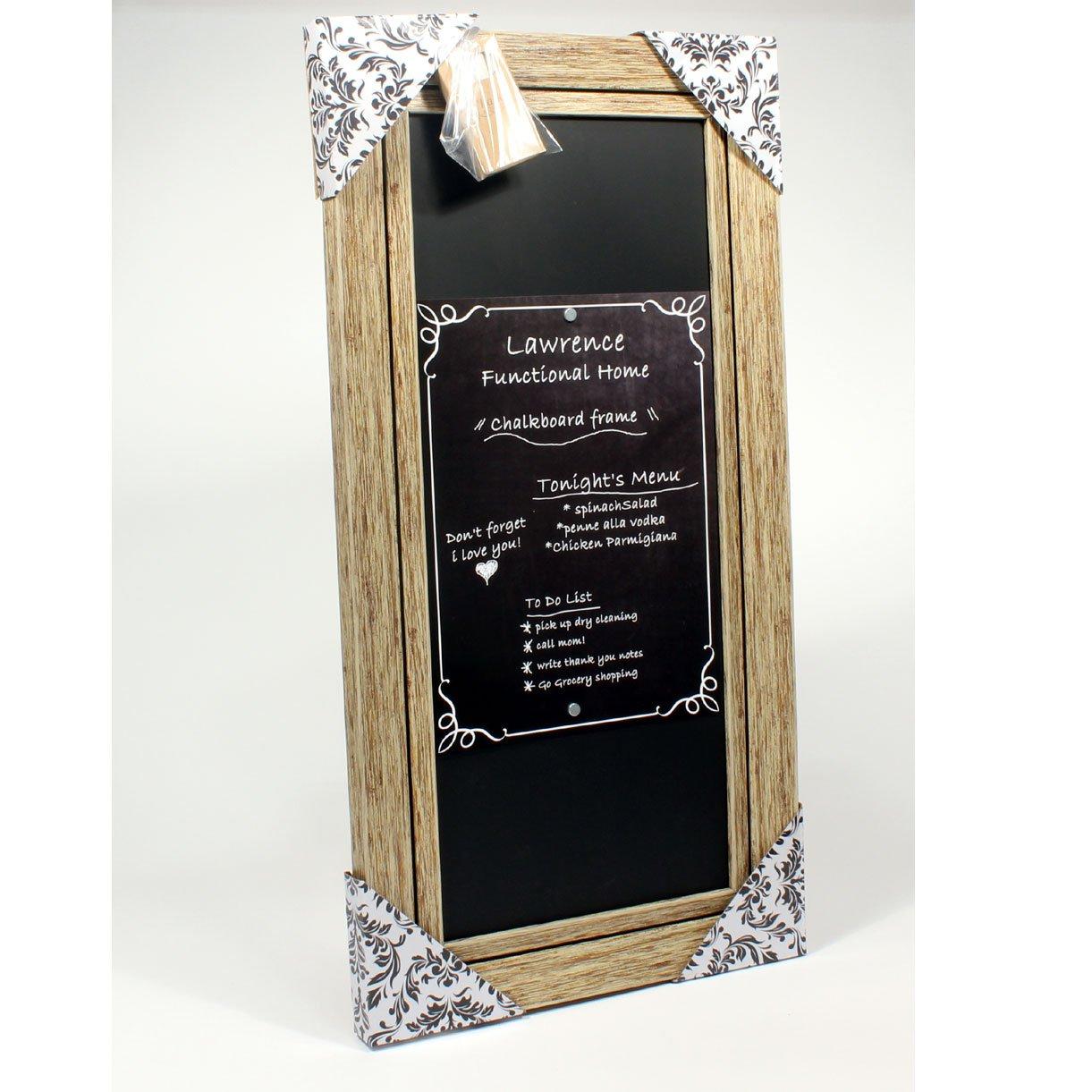 Amazon.com: Lawrence Frames Weathered Decorative Chalkboard Frame ...
