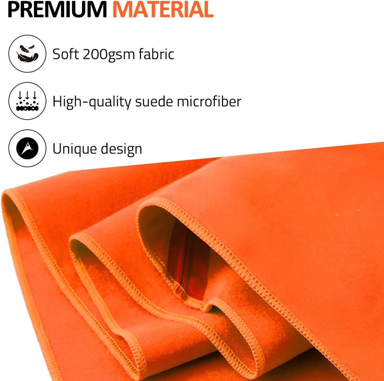 BAGAIL Microfiber Camping Towels Perfect Sports & Travel & Beach Towel. Fast Drying - Super Absorbent - Ultra Compact. Suitable for Gym, Beach, Swimming, Backpacking : Sports & Outdoors