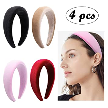 Fashion Sponge Headband Thick Hair Hoops Girls Soft Wide Hair Band Headwear