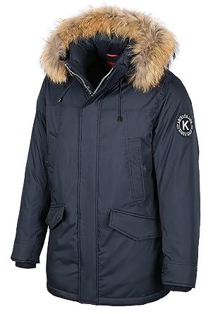 Kings Jacke 7w85m Herren Optik In Winter Mit Winterjacke Daunen Wind Echtfellkapuze ALc4Rjq35