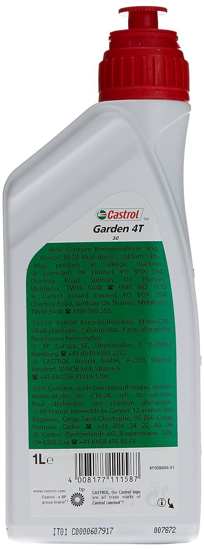 Castrol Aceite para Motor de la Marca 15792A, SAE 30, 1 litro. para ...