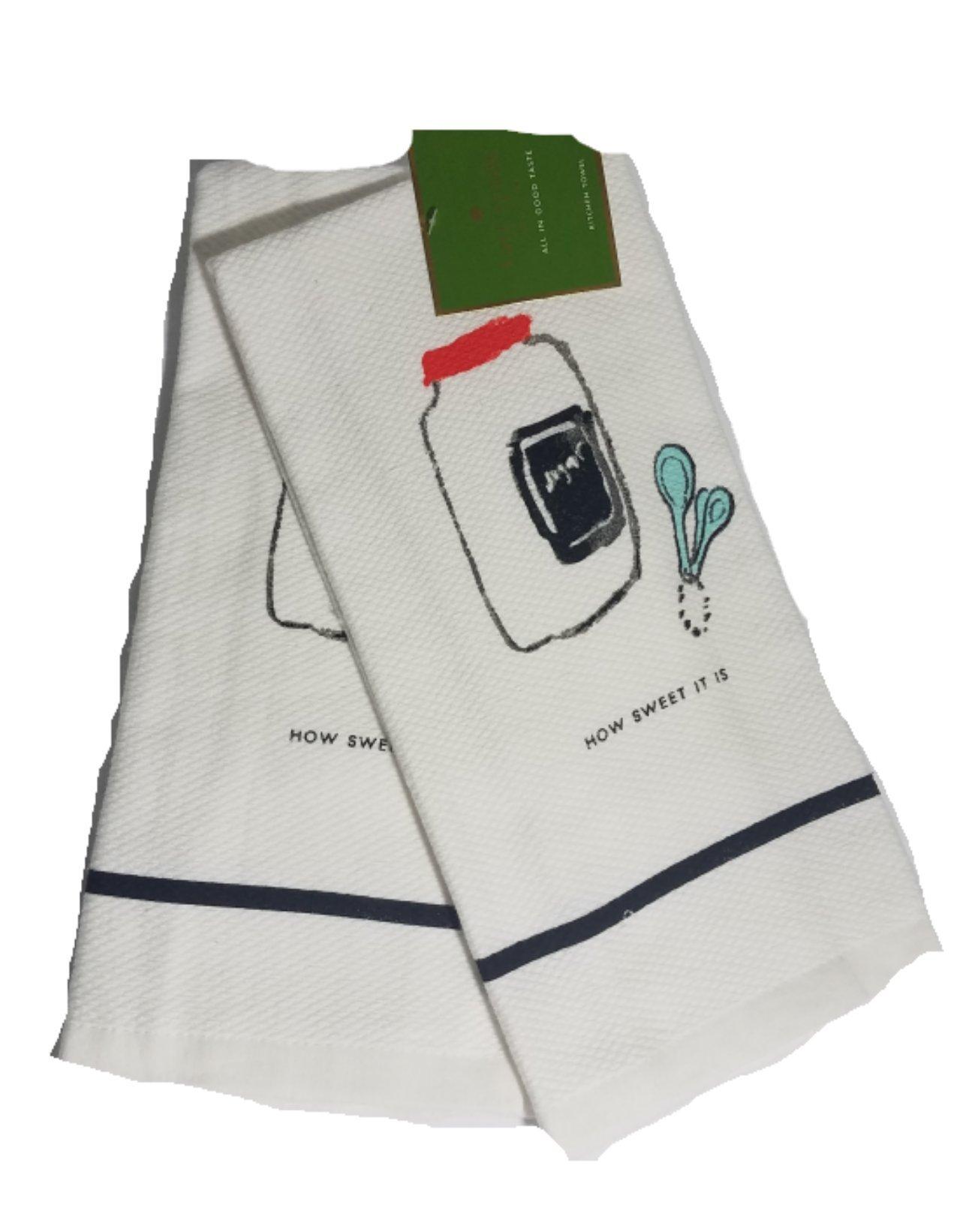Kate Spade How Sweet It Is 2 Pk Dish Towel Set, Multi