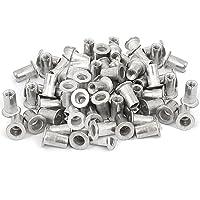 Veda 25piezas de M4roscado remache de aluminio tuerca