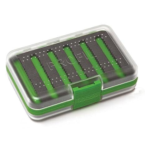 Leeda Profil - Caja para moscas de pesca, color transparente verde ...