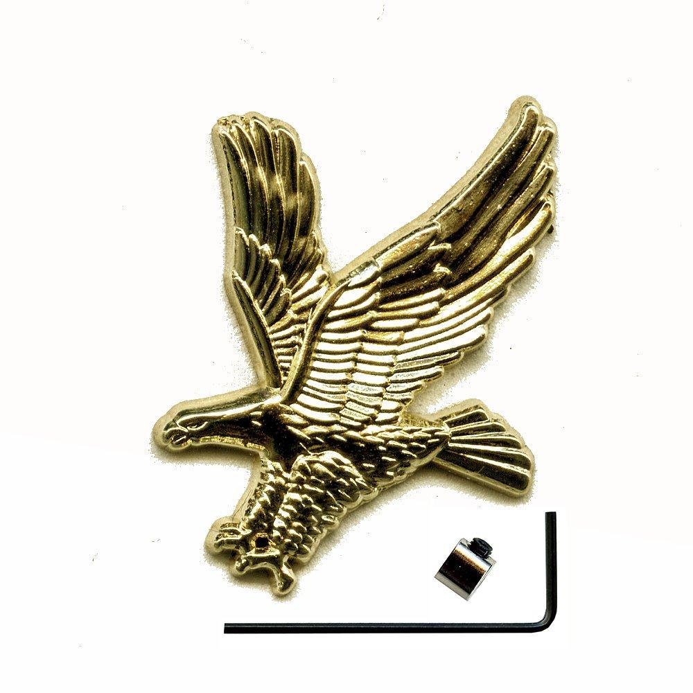 Aigle eagle inkl.sicherheitsverschluss mé tal button broches é cussons 478 pins 3D Import / Hegerring