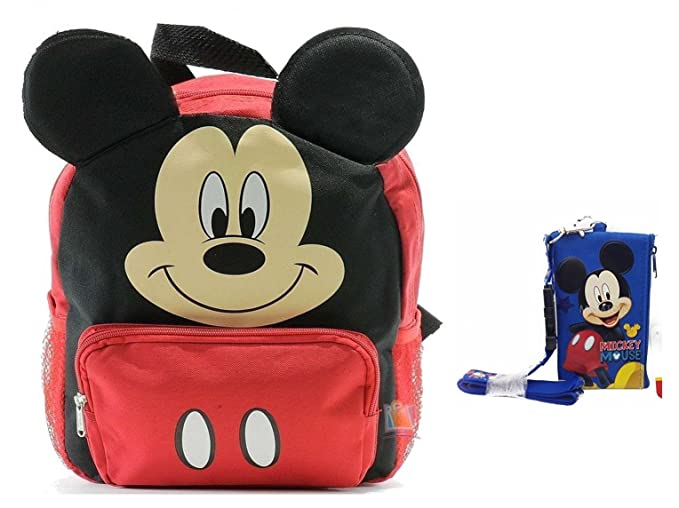 check-out Pré-commander à vendre Mickey Mouse, Sac à dos enfant Bébé fille Fille Garçon RED s ...