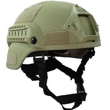 da26e76ae96 Liga & Co mich 2002 versión militar casco táctico accesorios ejército  combate cabeza pantalla equipo en