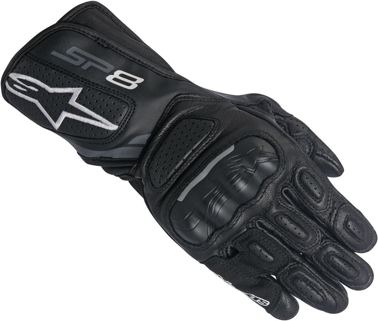M Alpinestars 1694380303 Motorrad Handschuhe Schwarz//Weiss//Fuchsia