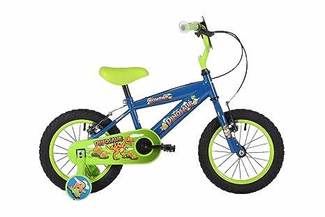 Nuovo Dinosauro Da Bambini Bambini Bicicletta Con Rotelle 305 Cm