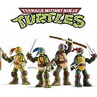 Ninja Turtles 4 PCS Set - Teenage Mutant Ninja Turtles Action Figure - TMNT Action Figures - Ninja Turtles Toy Set…