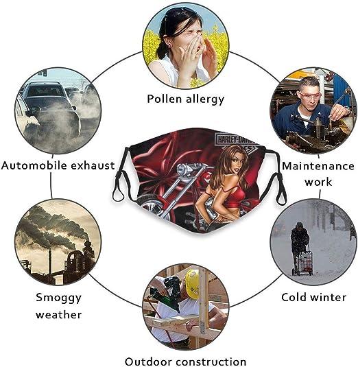 Skifahren CIKYOWAY Harley Davidson Wiederverwendbare und waschbare zum Laufen Outdoor-Aktivit/äten (1PCS) Radfahren