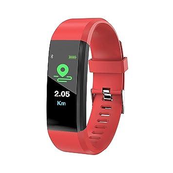 GZY Emotion Montre Connectée Cardiofréquencemètre, Bracelet Connecté Podomètre GPS Fitness Tracker dActivité Tension