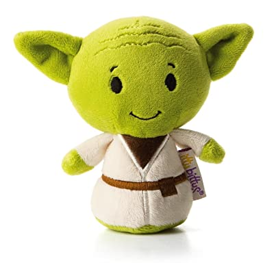 Hallmark itty bitty YODA Stuffed Animal Itty Bittys Back to School Sci-Fi: Toys & Games [5Bkhe0904477]