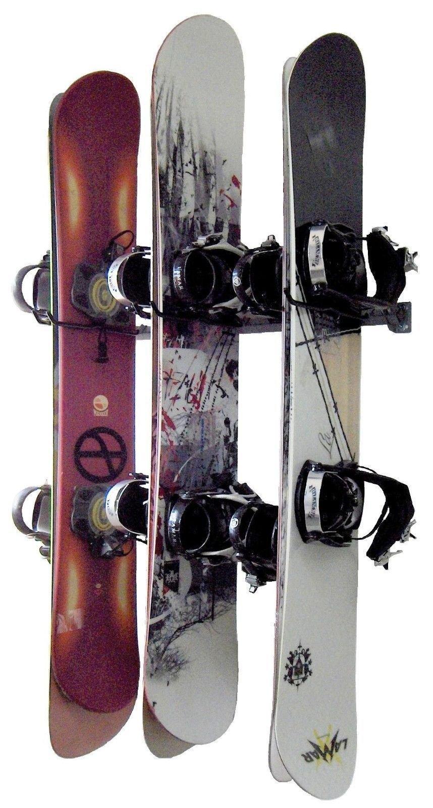Monkey Bars Snowboard Wall Rack