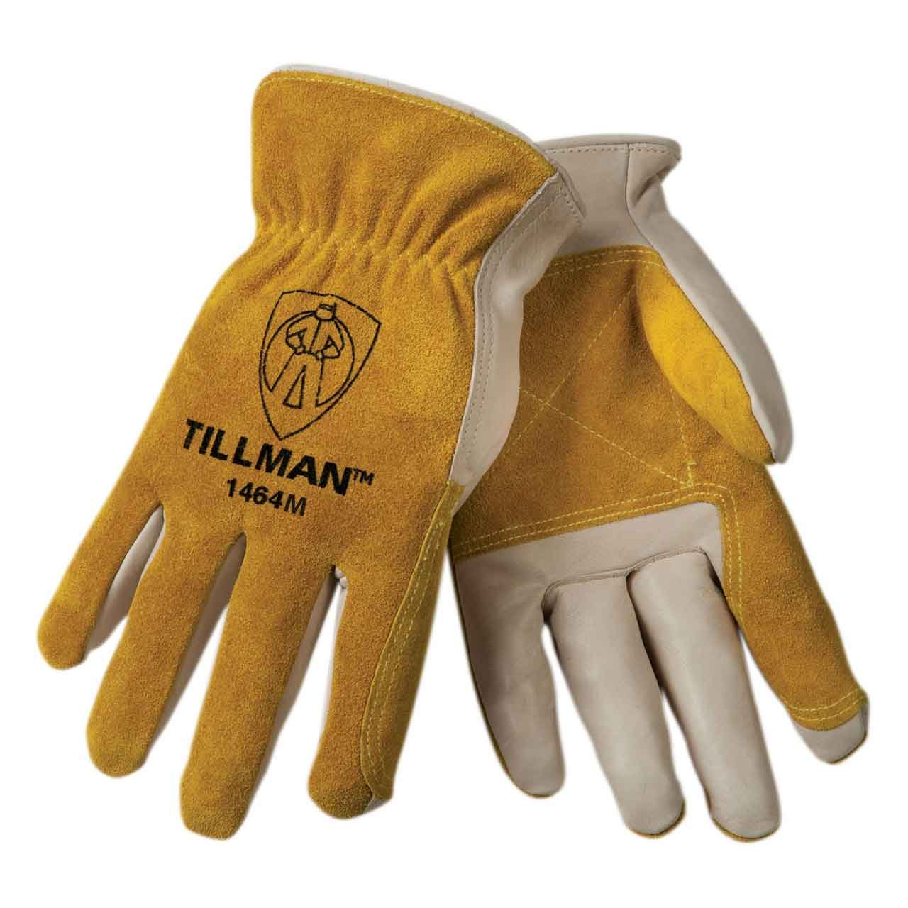 Tillman 1464 Top Grain Cowhide/Split Drivers Gloves - Medium 1464M