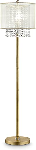 OK Lighting OK-5154F 64.5″H Bhavya Floor Lamp