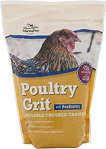 Manna Pro, 5 lb 1000212 Poultry Grit with Probiotics, Adult