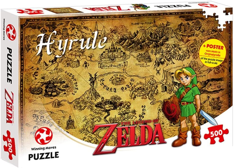 ZELDA 599386031 - Puzzle The Legend of Hyrule (500 Piezas)