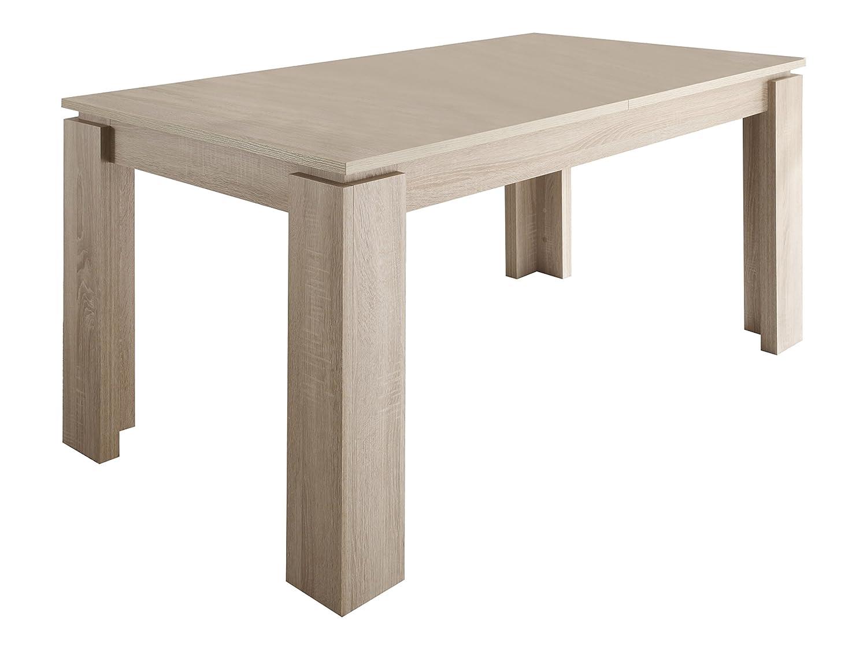 Schön Trendteam ET Esstisch Küchentisch Ausziehbar | Eiche Sägerau Hell | 160    200 X 90cm: Amazon.de: Küche U0026 Haushalt