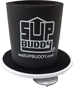 SUP Buddy Beverage Koozie - Hold Most Any Standard Drink to a Smooth Surface While Paddling, Boating or Most Anything.