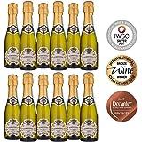 Premier Estates | Best Prosecco 20cl Miniature Sparkling White Wine D.O.C Millesimato from Italy | Case of 12 x 20cl