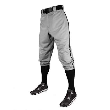 ccd0c594052 Image Unavailable. Image not available for. Color  C6 Pro Series Youth  Baseball Knickers with Piping