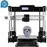 3D Printer Acrylic A8 (Y8) Desktop DIY 3D Printer Self-Assembly Prusa i3 Kit High Precision 3D Printers with LCD Screen 3d Printer Kit, Tigtak (Platform Size 220 * 220 * 240)