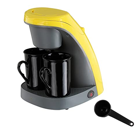Cafetera Electrica Maquina Hacer Cafe Goteo 2 Tazas Filtro Lavable 240ml 6047
