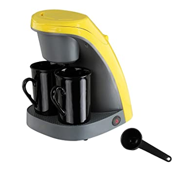 Cafetera Electrica Maquina Hacer Cafe Goteo 2 Tazas Filtro Lavable 240ml 6047: Amazon.es: Hogar