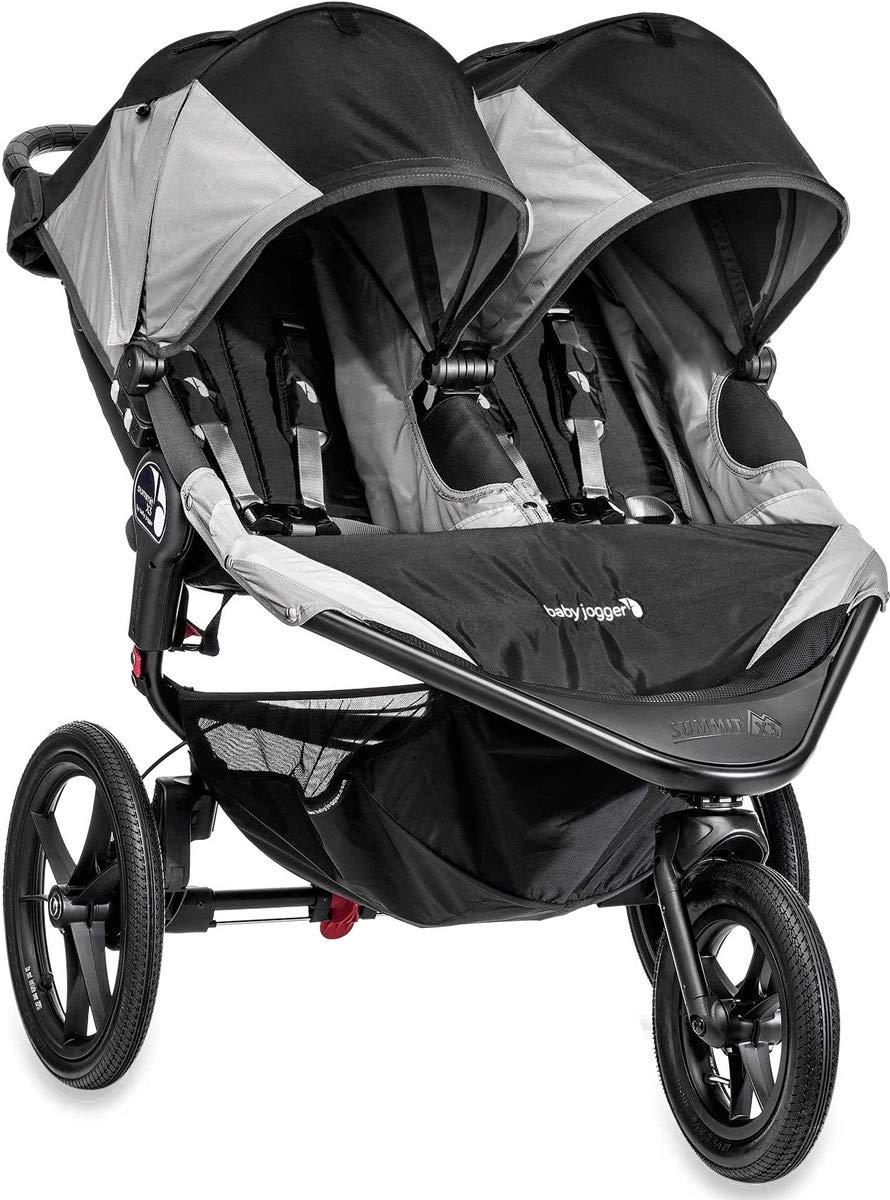 Baby Jogger 2014 Summit X3 Double Jogging Stroller, Black Gray