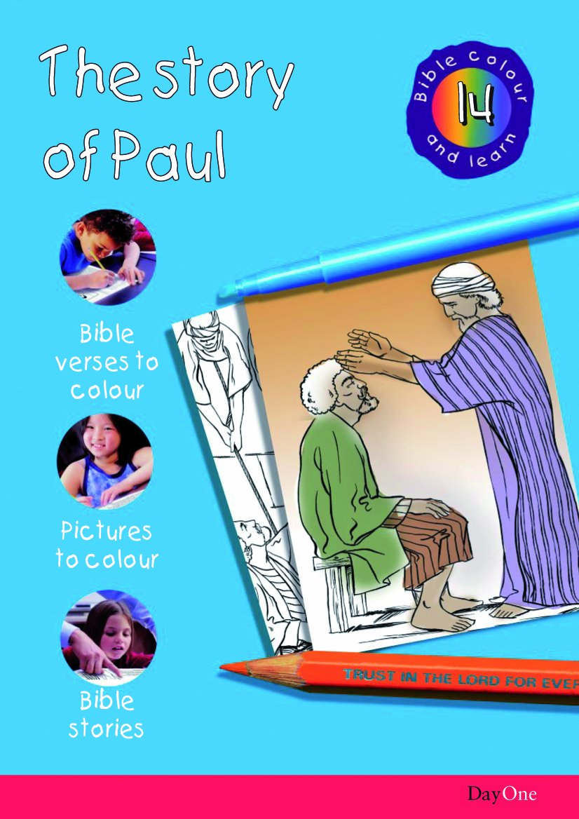 Download Bible Colour and learn: 14 Paul pdf epub