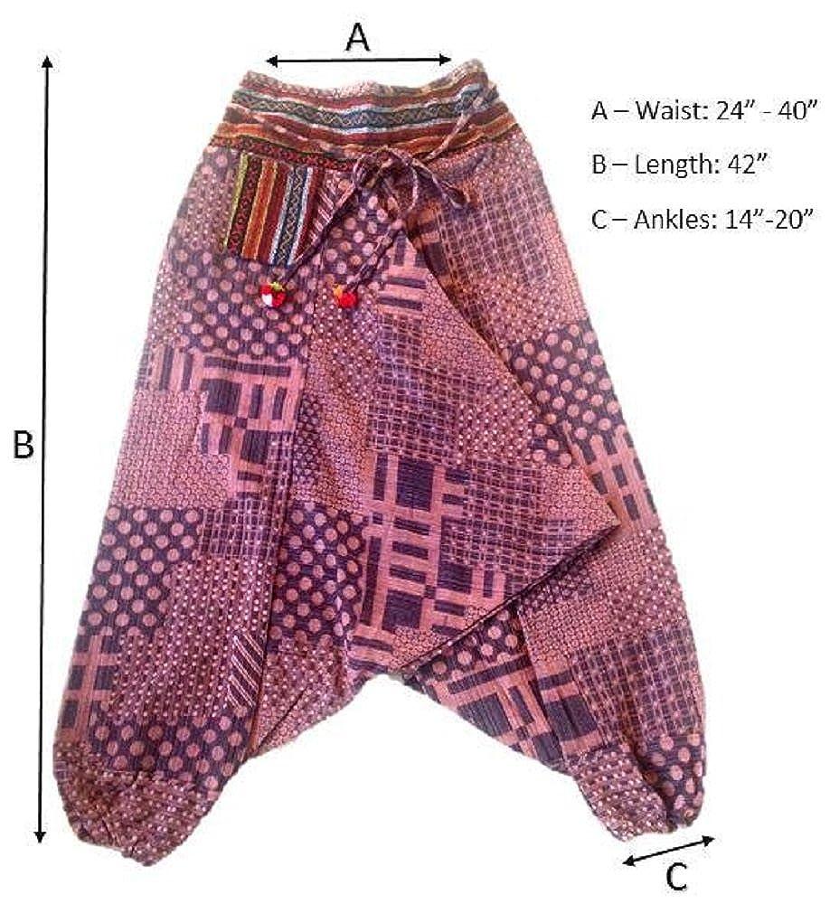 Pink Aladdin Pant One Size, Pink Wave