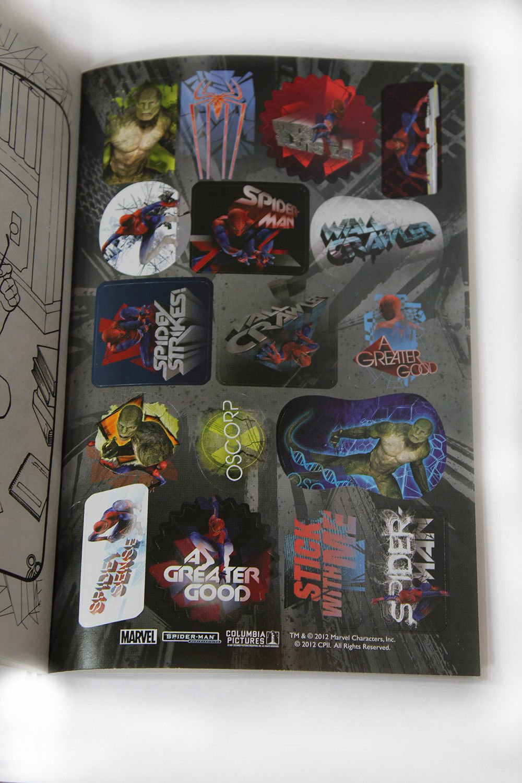 Amazing Spider-Man Action Arachnid Coloring /& Activity Book