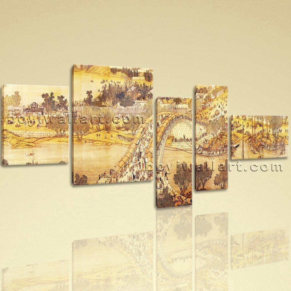 Amazon.com: Extra Large Landscape Painting Famous Art Hd Print Asian ...