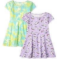 The Children's Place Girls Print Skater Dress 2-Pack