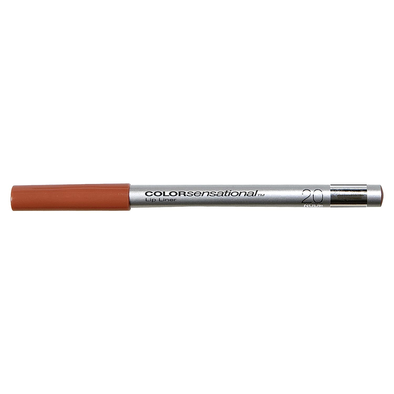 Maybelline New York ColorSensational Lip Liner, Nude 20, 0.04 Ounce K0214801