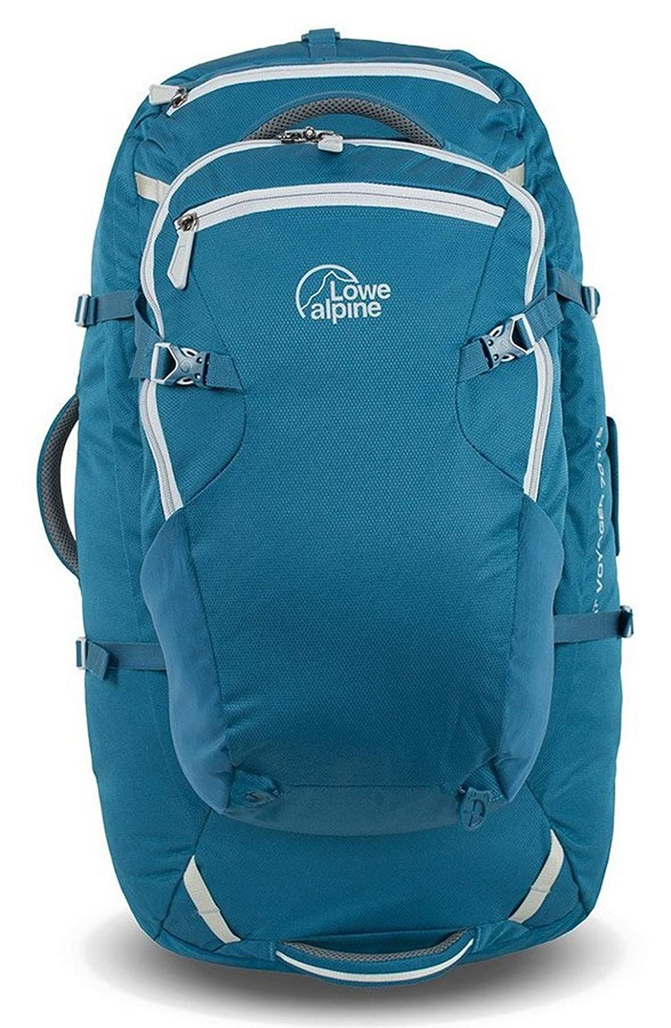 LOWE ALPINE AT VOYAGER ND65:15 BACKPACK (ATLANTIC BLUE/LIMESTONE) B00SHGTXQQ  One Size